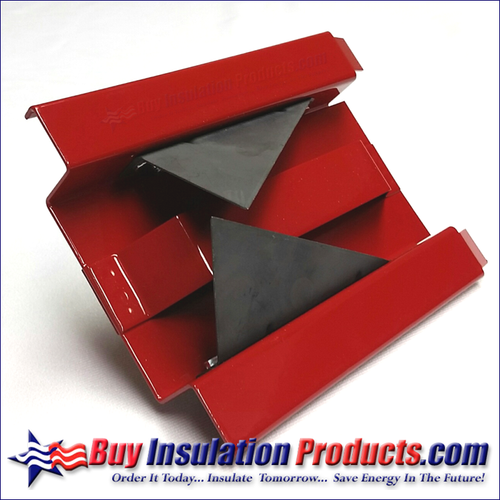 V Groove Duct Board Tool (Red)