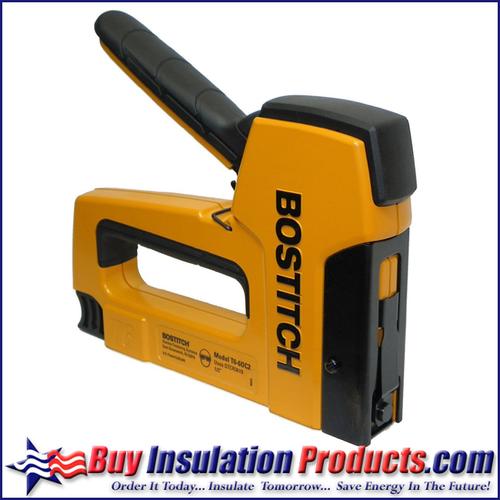 Bostitch PowerCrown Outward Clinch Insulation Tacker