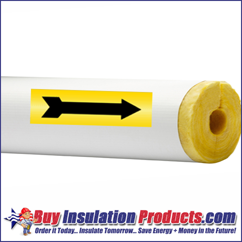 Yellow/Black Arrows for Pipe ID Labels