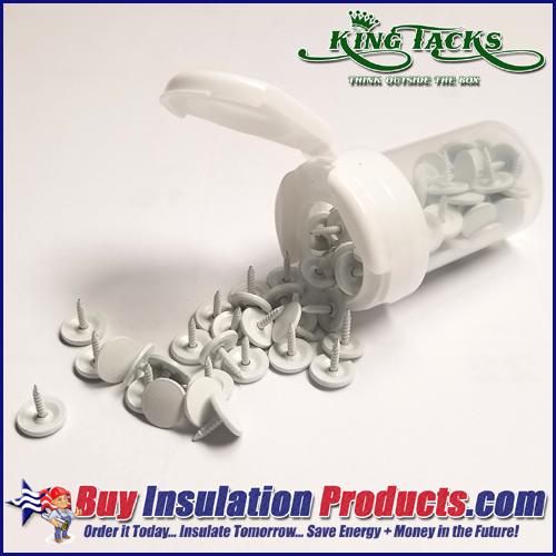 King Tacks PVC Fitting Tacks (100 Tacks)