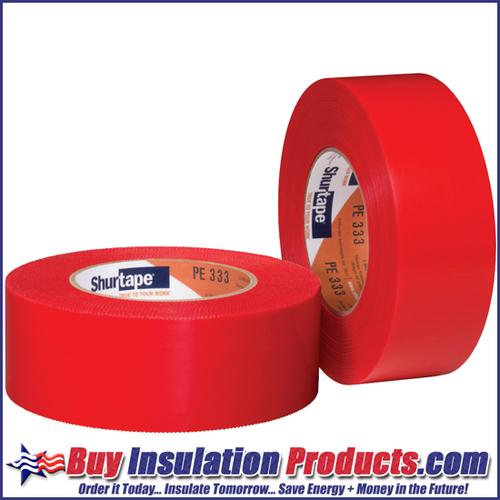 Red Stucco / Abatement Polyethylene Tape