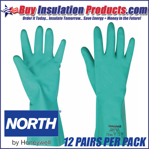 North Safety Nitri Guard Plus Nitrile Rubber Gloves (Dozen)