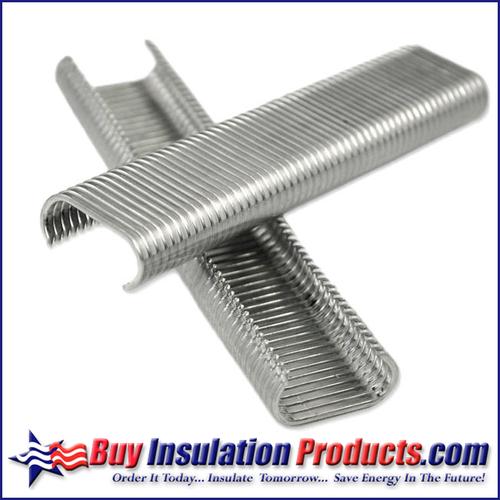 """C-Ring Staples (Hog Rings) Galvanized Steel (11/16"""")"""