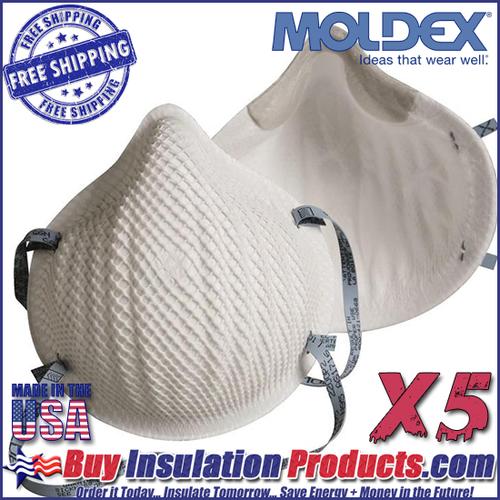 Moldex N95 Dust Masks (Pack of 5)