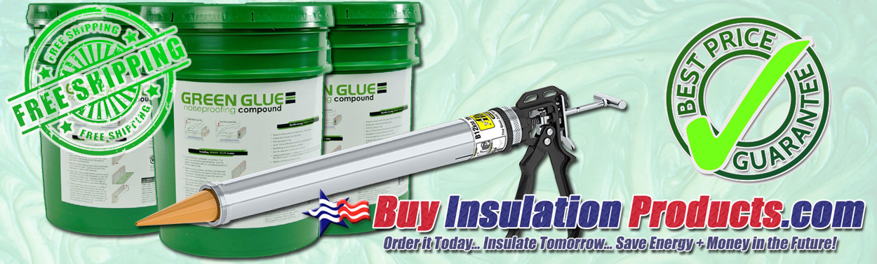 Green Glue Noiseproofing Products At The Lowest Prices