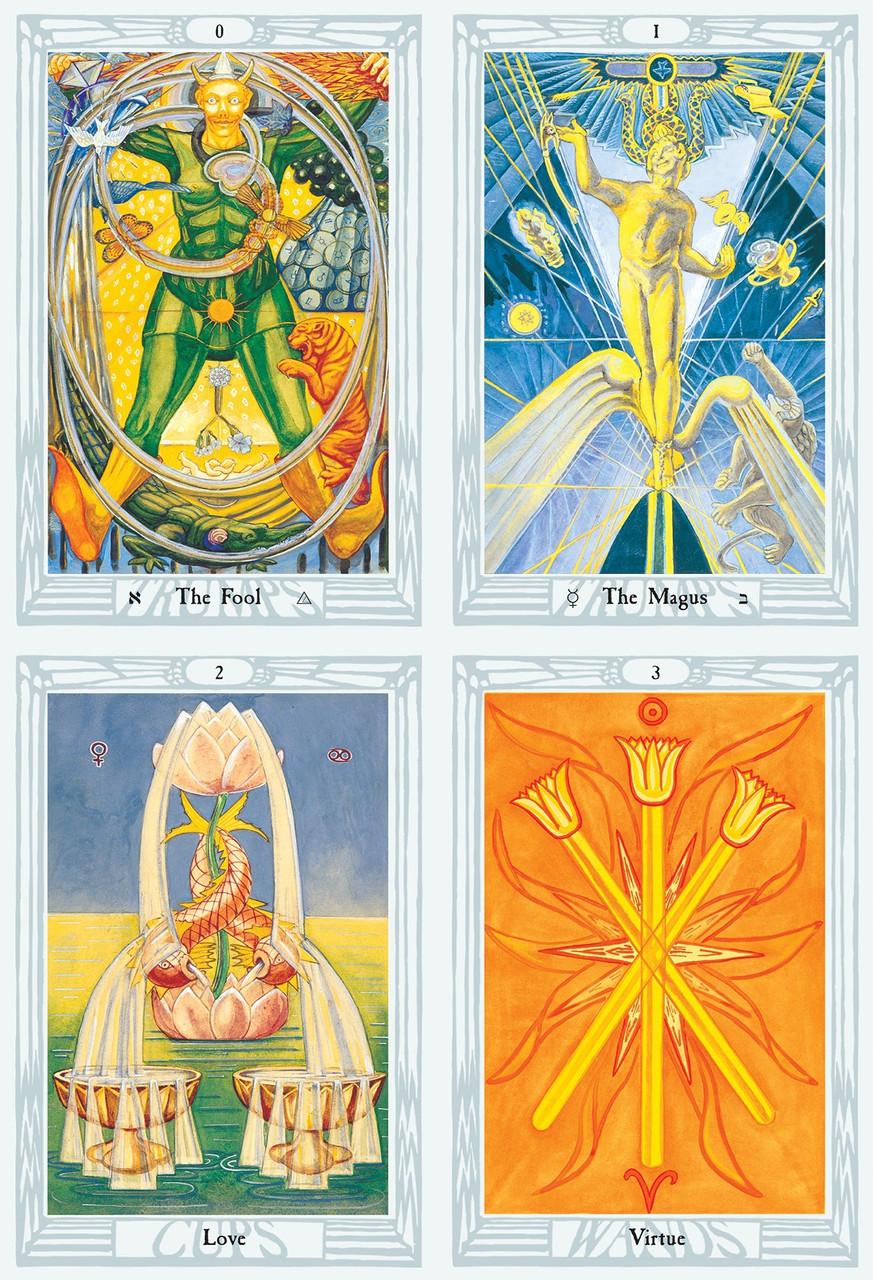 Crowley Thoth Pocket Swiss Tarot Deck