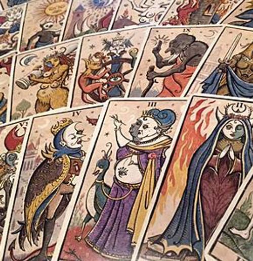 The Book of Thoth / Etteilla Tarot - The Tarot Garden