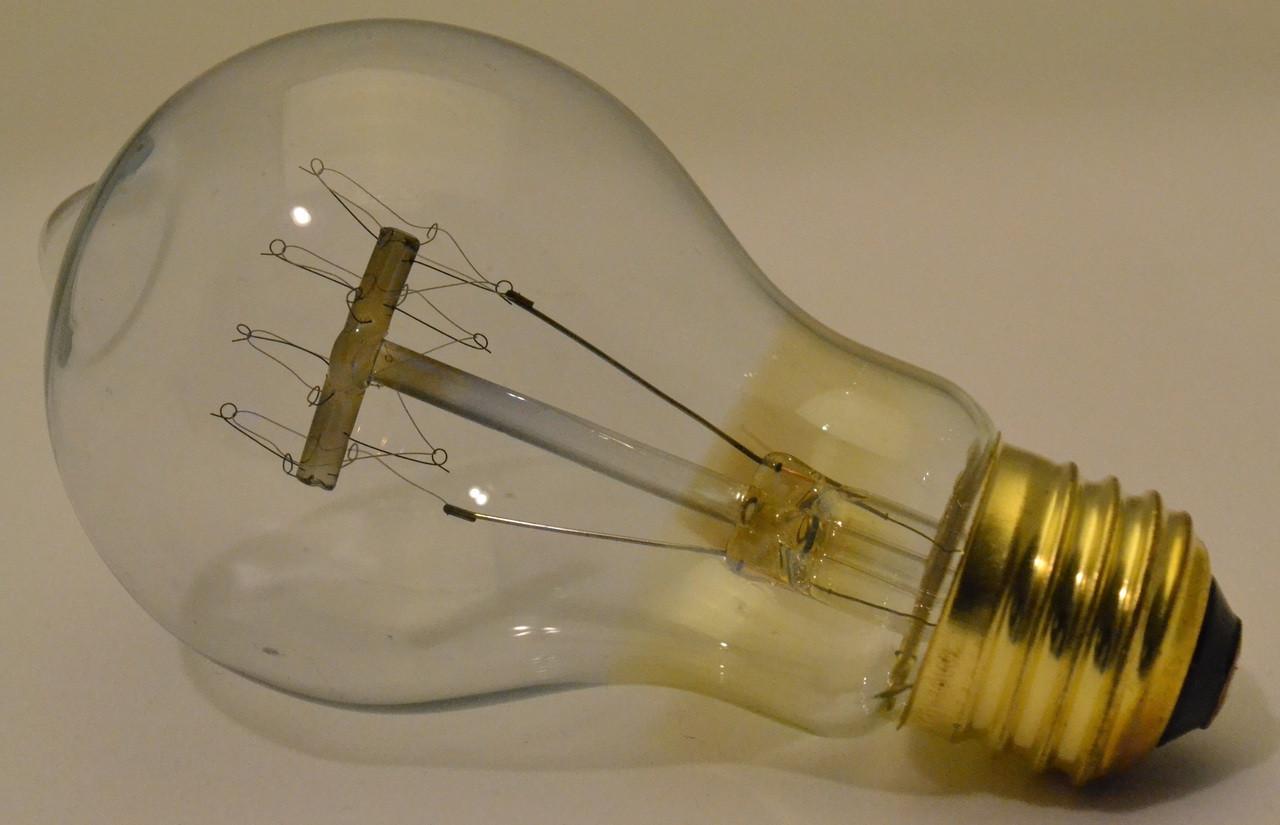 Vintage Bulb, Medium (E26) Base 40 Watt - Loop Filament