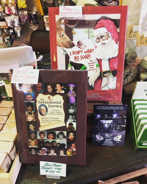 """Books, """"A Santamental Journey"""" & """"I Don't Want No Soap"""""""