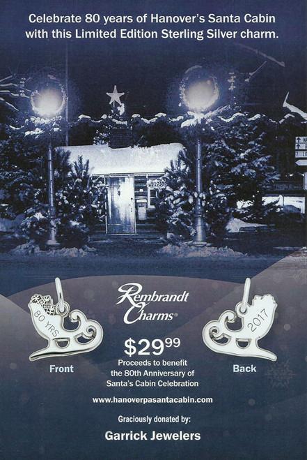 2017 Santa's Cabin Charm