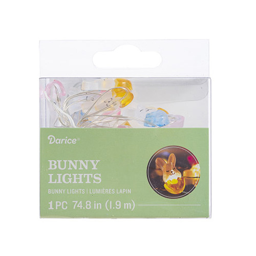 20 LED Battery Bunny Lights
