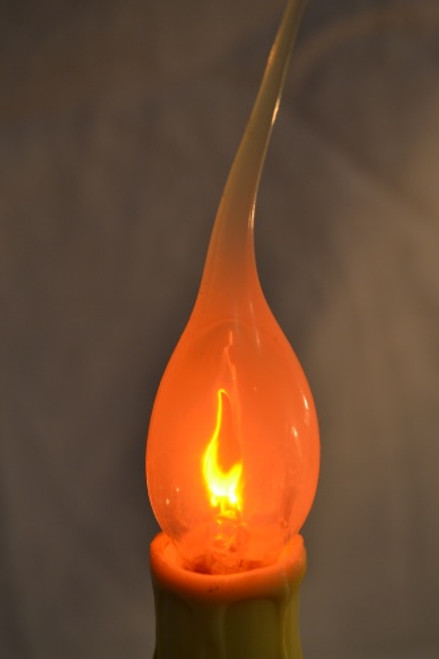 7in Country Candle with Silicone Flicker Bulb