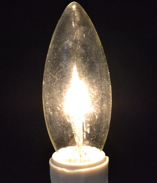 Welcome Candle/Torpedo Bulb, 7 Watt- 3 Pack