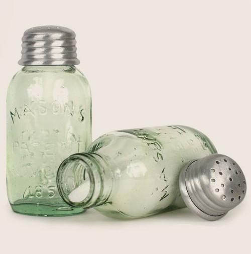 Mason Jar, Salt and Pepper Shakers