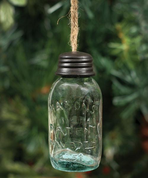 Mason Jar Ornament, Large