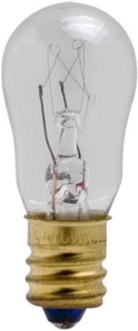 Petite 6 Watt Bulb, S6S Shape E12 Base