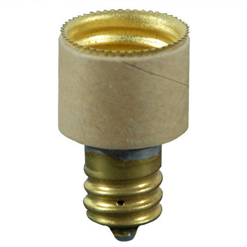 Socket Enlarger, Candelabra (E12) to Intermediate (E17)