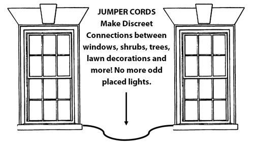 Jumper Cord White 12'