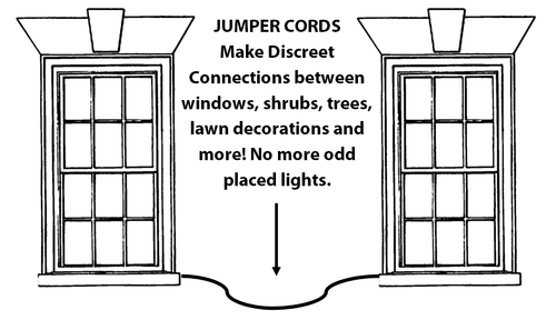 Jumper Cord White 6'