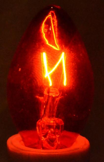 C7 Transparent Red