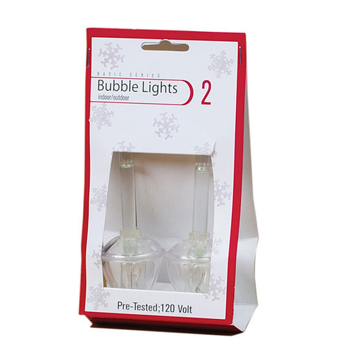 Bubble Light Replacement Bulbs - Clear Colored