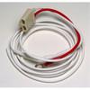 Delco Alternator 2 wire connector plug - P10SI