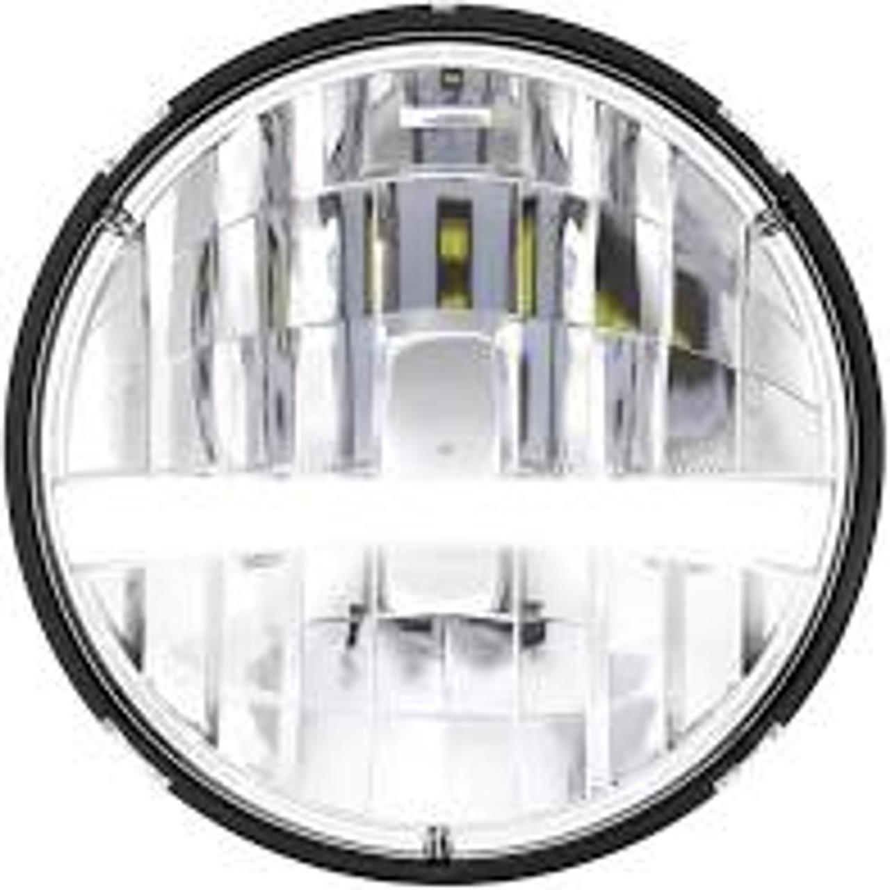 "7"" HP Cree LED Headlight, Turn Signal,White - 31459"