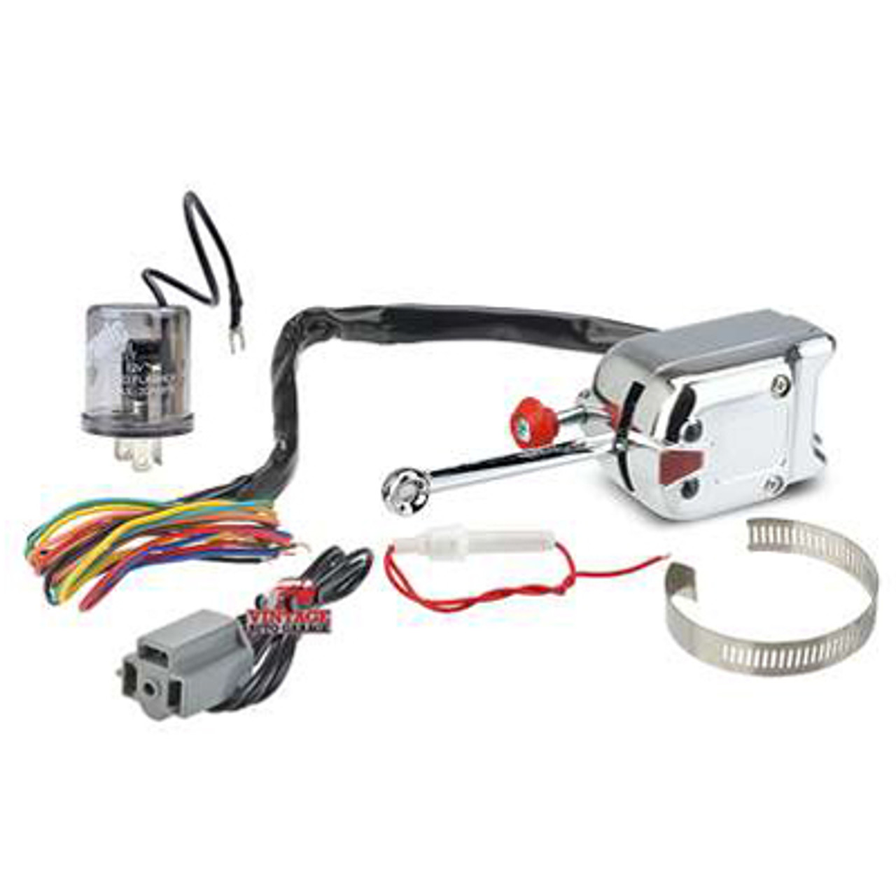 Heavy Duty 12 V Turn Signal With LED & Standard bulb Flasher - 5007RK