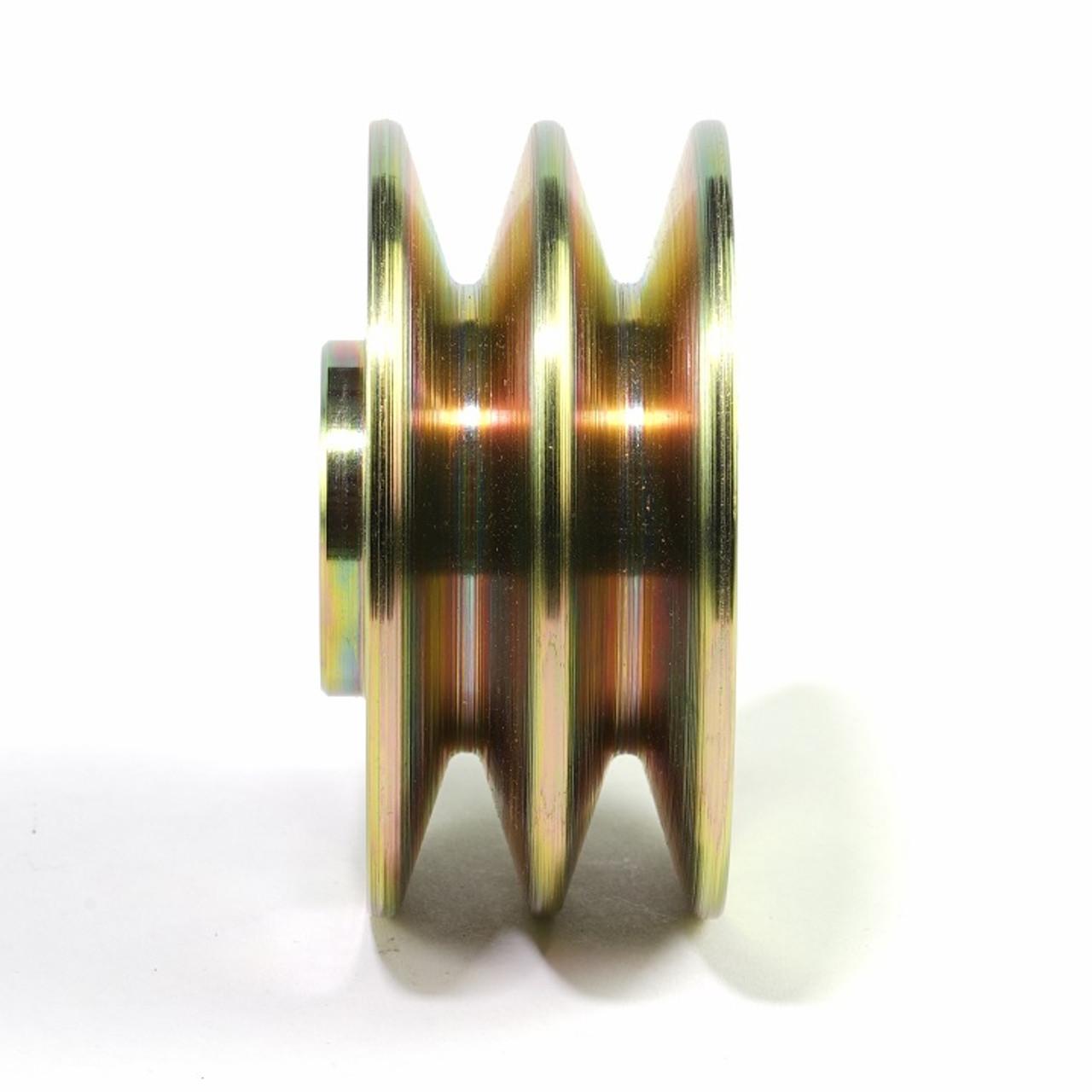 "Alternator Pulley dual groove 3/8"" - AP38D"