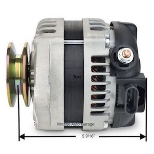 Ultra high output  177 amps / 100 amp Idle Hairpin alternator - 7127-HP170