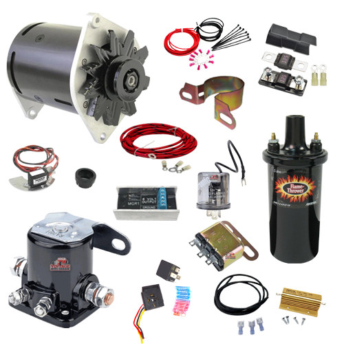 1955 Ford Thunderbird Ultimate 6 Volt to 12 Volt Conversion Kit - PGFT55K