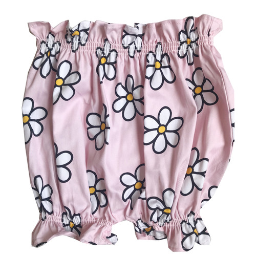 Ruffle Bloomers - Daisies-Pink