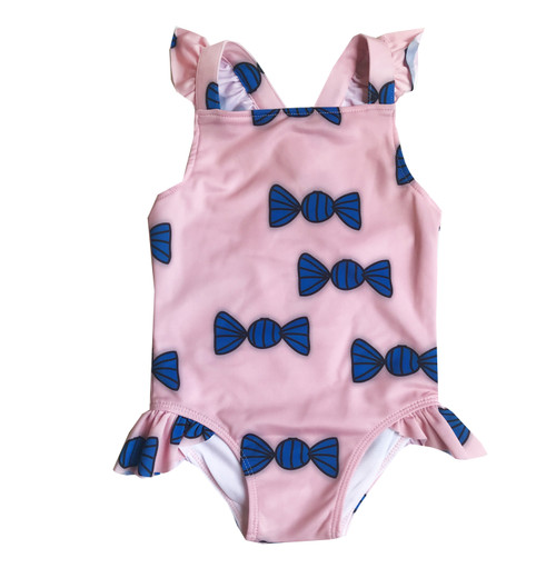 Ruffle Swimsuit - Candies