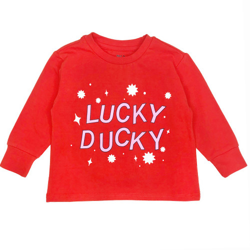 Long Sleeve Tee Shirt - Lucky Ducky