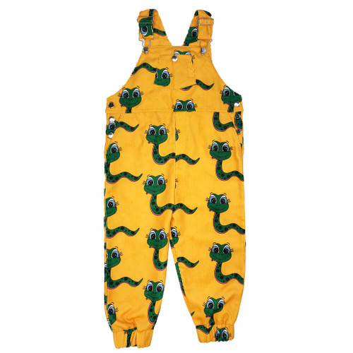 Overalls - Snakes-Yellow