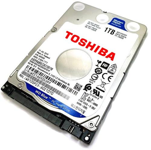 Toshiba Satellite (PSC0YU-01303X) Laptop Hard Drive Replacement