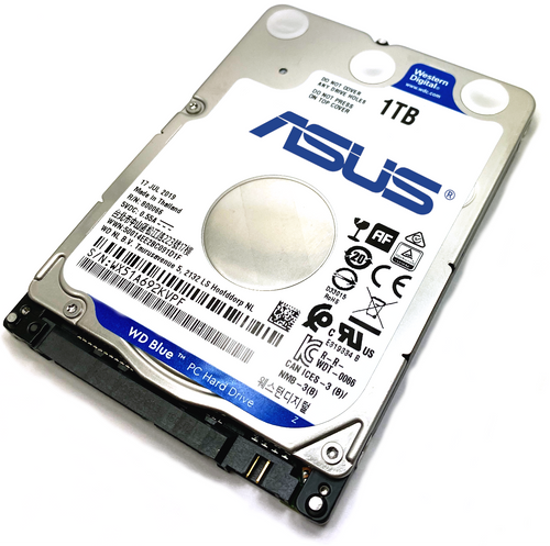 Asus W Series W3Z Laptop Hard Drive Replacement