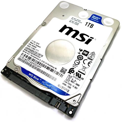 MSI GX Series GX740 Laptop Hard Drive Replacement