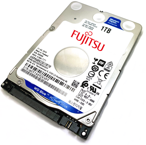 Fujitsu Lifebook A Series 2000 Laptop Hard Drive Replacement