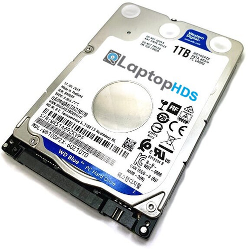 Gateway 6000 series 6018GH Laptop Hard Drive Replacement