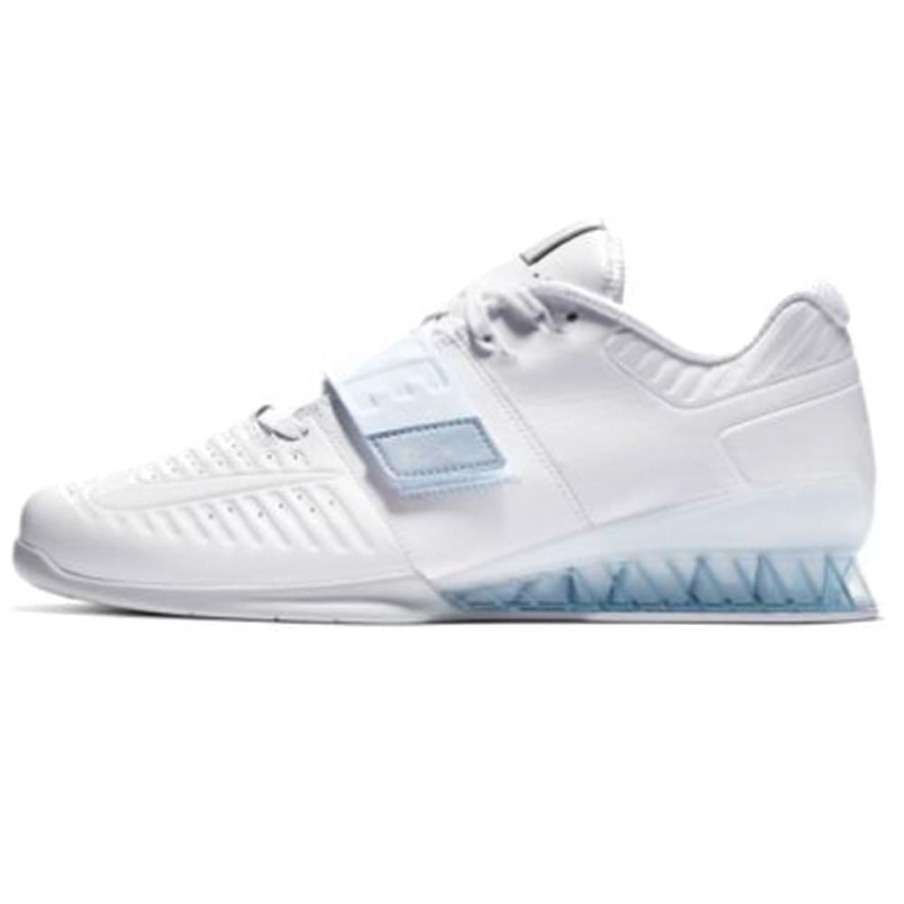 claridad Elocuente Monje  Nike Romaleos 3XD - White/Metallic Platinum