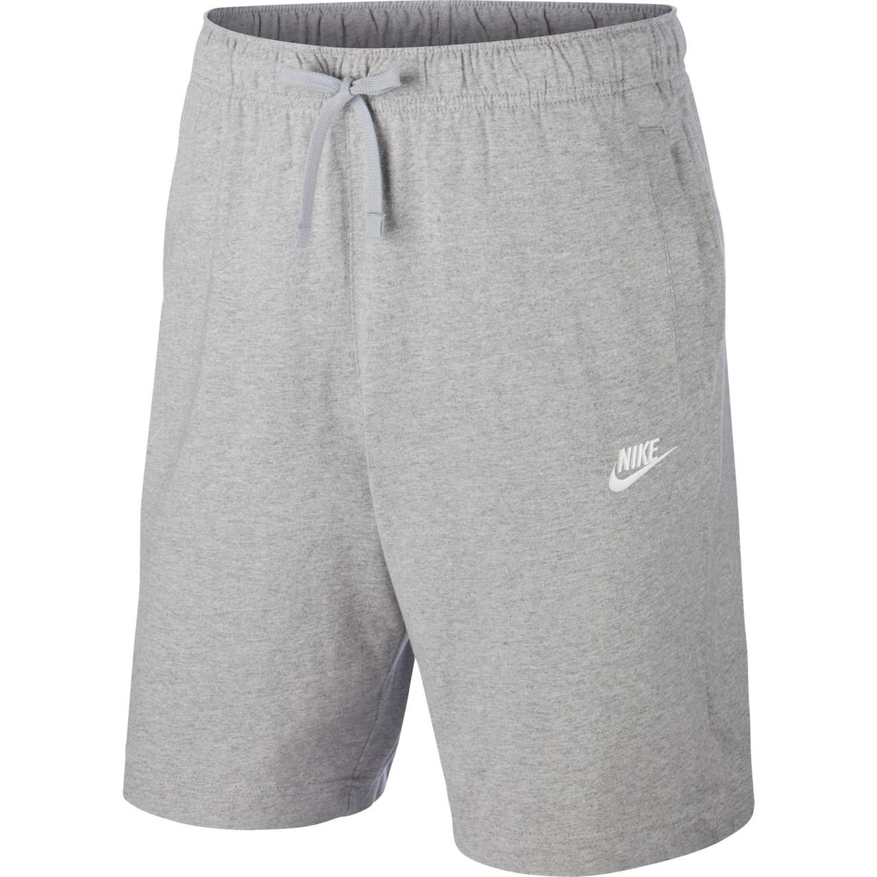 Nike Men's Team Sportswear Short - Dark Grey/White