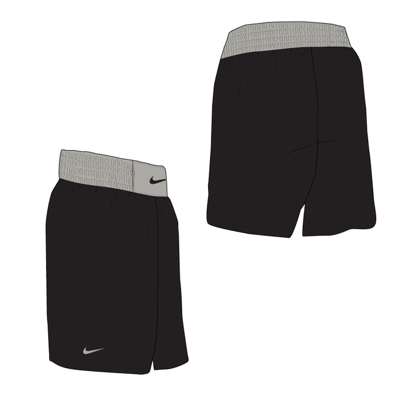 614021efe0 Nike Boxing Short - Black / Pewter - Athlete Performance Solutions EU