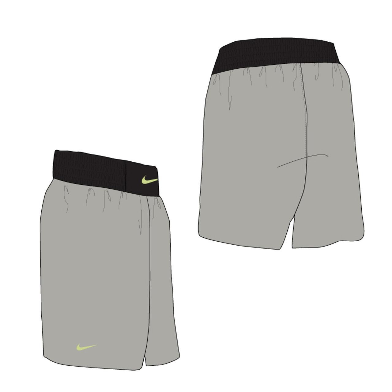 879a91bd2d Nike Boxing Short - Pewter / Black - Athlete Performance Solutions EU