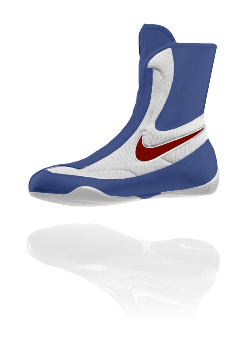 Nike Machomai Mid - Red White Blue 5acd69a64