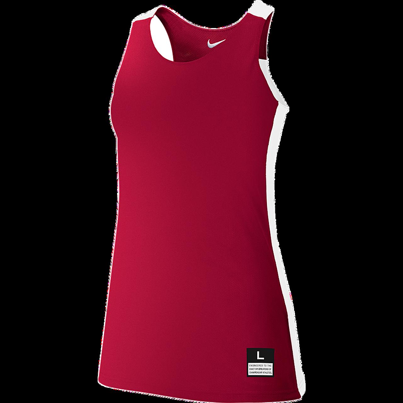 98459eb6385d Nike Womens League Reversible Tank - Scarlet White - Athlete Performance  Solutions EU