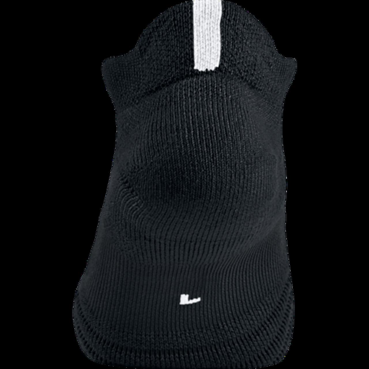 64ed70176ef Nike Elite Versatility Low Basketball Sock - Black Black Anthracite