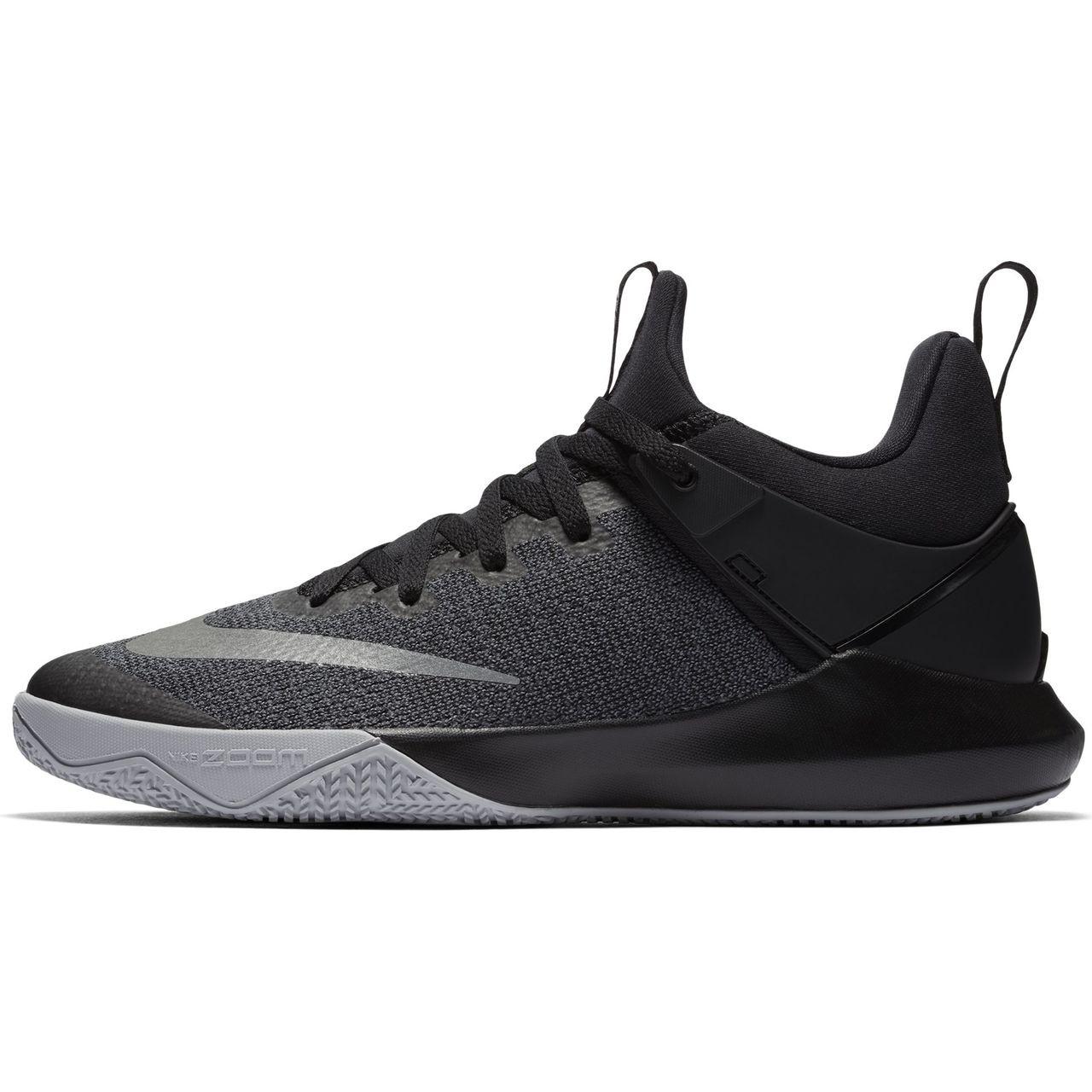 usa cheap sale best hot sales Nike Men's Zoom Shift TB - Black/Grey - Athlete Performance ...
