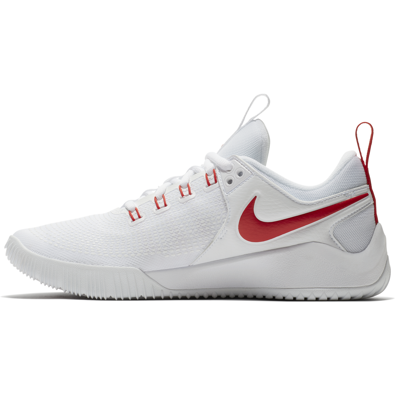 6703e79b8bf8 Nike Women s Zoom HyperAce 2 Volleyball Shoe - White University Red