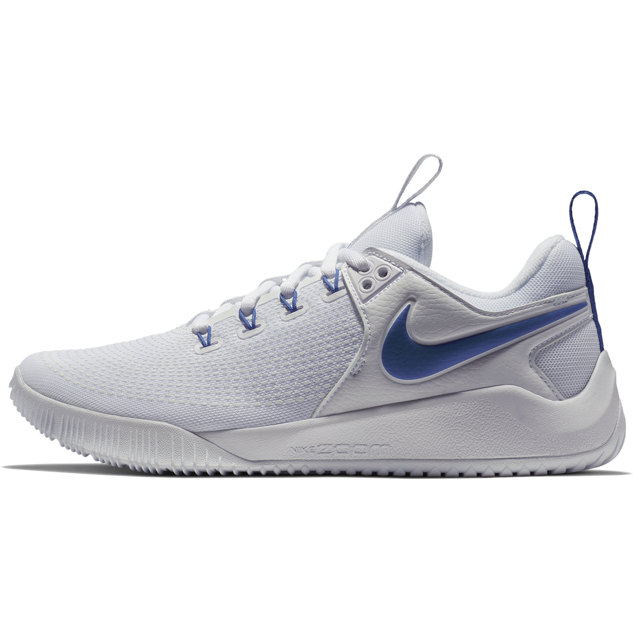 549edc6f119e Nike Women s Zoom HyperAce 2 Volleyball Shoe - White Game Royal